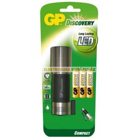 GP LED elemlámpa LOE203 + 3 x AAA GP Ultra elem