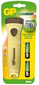 GP LED elemlámpa LHE108 + 2 x AA GP Greencell elem