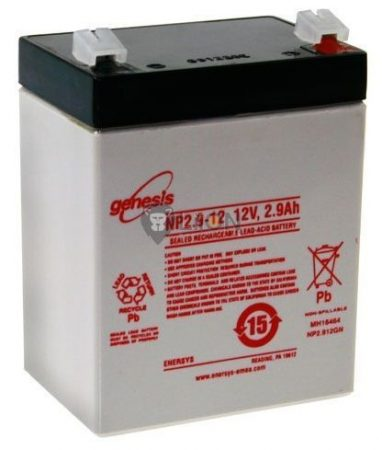 Genesis NP baterie de 12V 2,9Ah