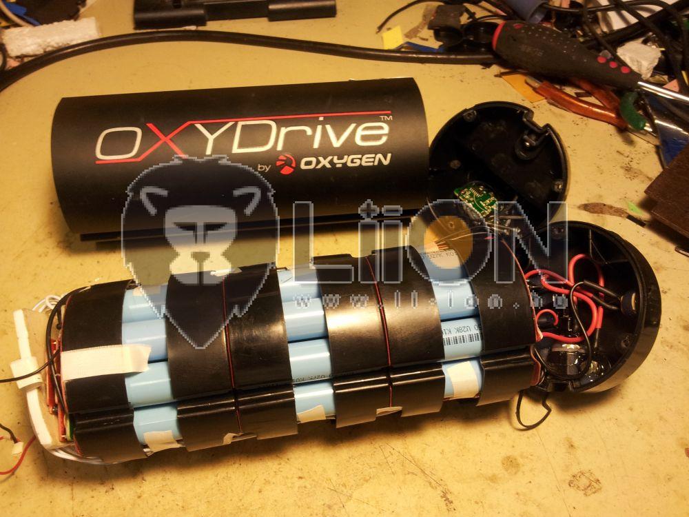 Oxydrive 36V li-ion pedelec e-bike akku felújítás