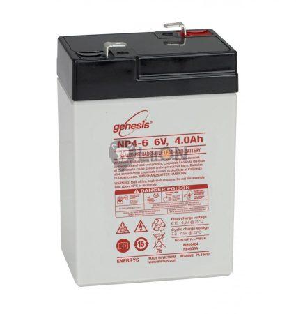 Genesis NP 6V 4Ah akkumulátor