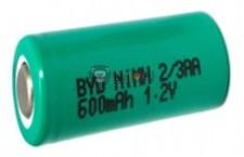 Baterie Ni-MH 1,2 V 2/3AA
