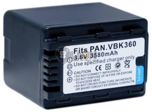 Panasonic VW-VBK360 utángyártott kamera akku