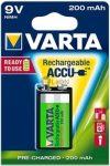 VARTA Ready 2 Use 9V 200 mAh akkumulátor