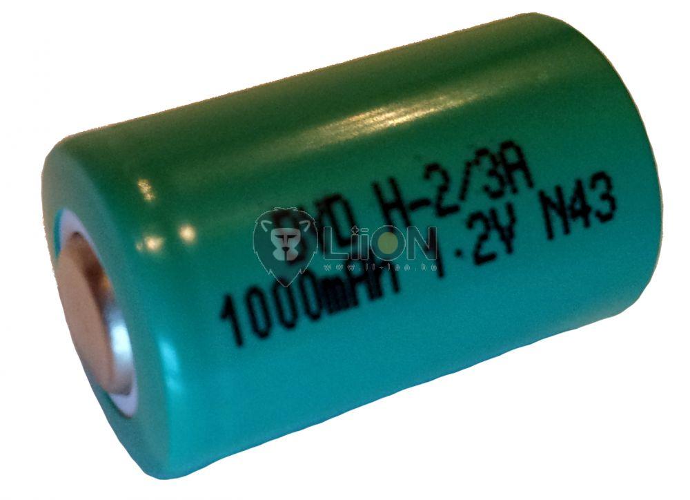 Baterie Ni-MH 1,2 V 1100mAh 2/3A