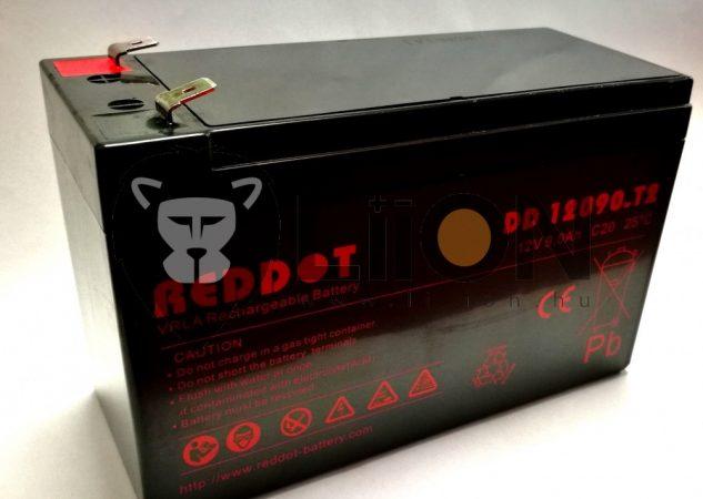 Reddot 12V 9Ah ólom zselés akkumulátor