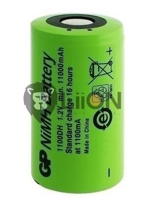 Ni-Mh baterie D 9000