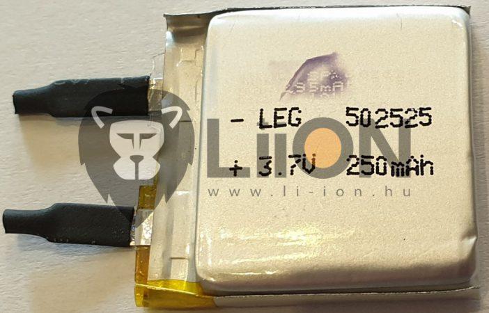 Li-polimer 53555 3,7 V baterie 900mAh