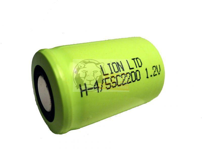 1.2V 2200mAh Ni-Mh 4/5SC baterie
