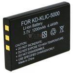 Kodak KLIC 5000 utángyártott kamera akku