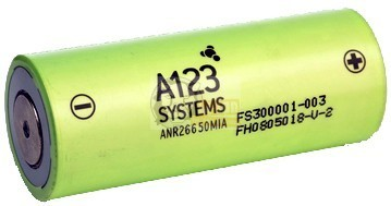 LiFePO4 ANR 26650 3,3 V baterie 2300mAh