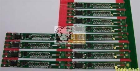 PCB - placa de circuit de protecție 7,2 V 2A (Li-ion, Li-polimer)