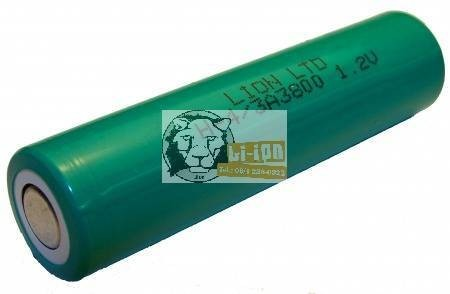 Baterie Ni-MH 1,2 V 3800mAh 4/3A