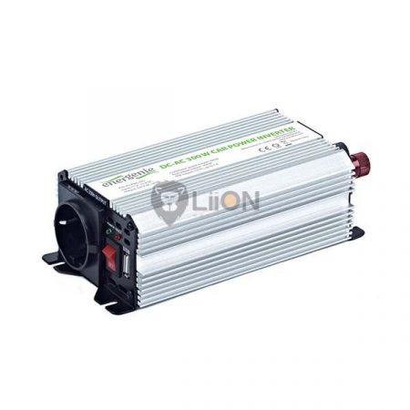 Inverter 12V-220V 300W USB csatlakozó