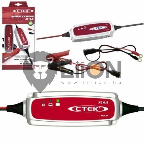 CTEK XC 800 6V-os autó akkumulátor  töltő 56-770