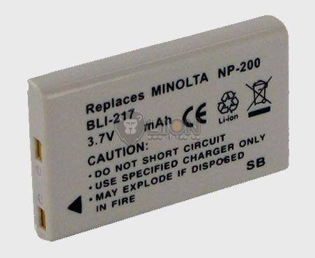 Minolta NP-200 utángyártott kamera akku