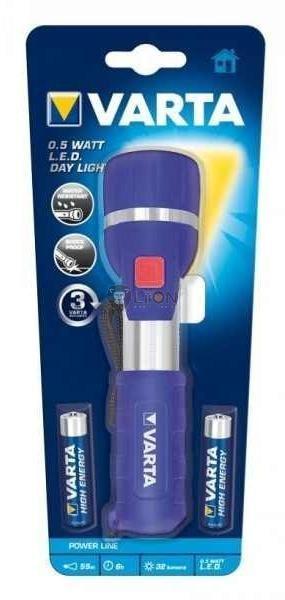 VARTA 0,5 WATT LED DAY LIGHT 2AA elemlámpa - Varta 17651
