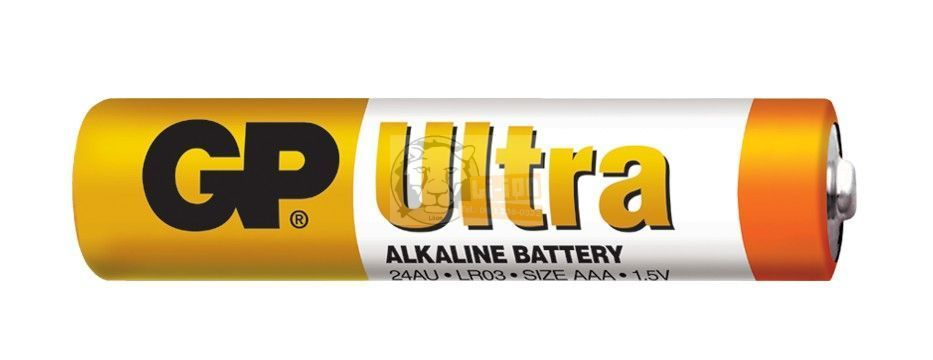 GP Ultra alkáli AAA elem 6db-os 24AU