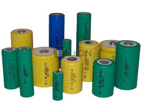 80BVH3A4H baterie de memorie cu 2 picioare panou 3.6V 80mAh Ni-Mh