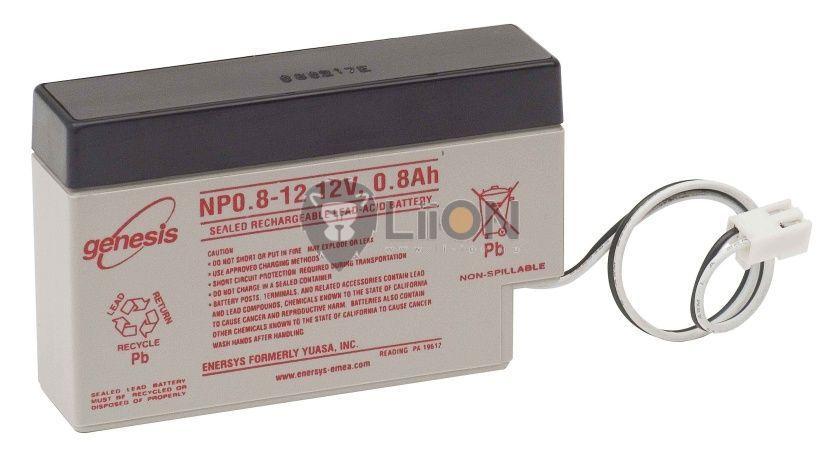 Genesis NP baterie de 12V 0,8Ah
