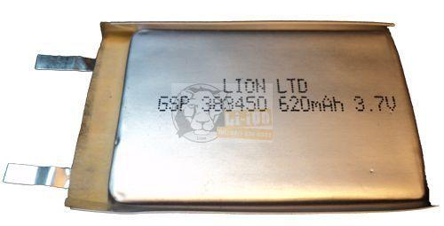 Li-polimer 383450 3,7 baterie V 620mAh