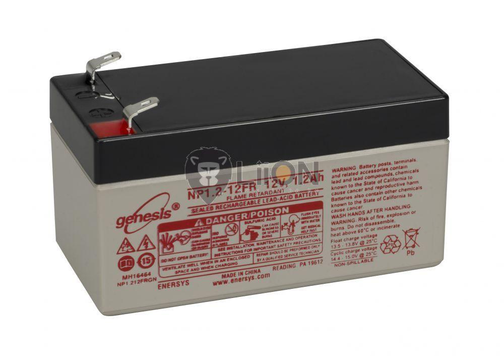 Genesis NP baterie de 12V 1,2Ah