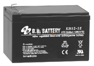 12V 12Ah ciklikus e-kerékpár  akkumulátor