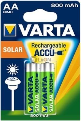VARTA Solar akkumulátor 800mAh AA 2 db-os