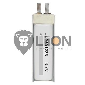 Li-polimer 051235 3,7 baterie V 150mAh