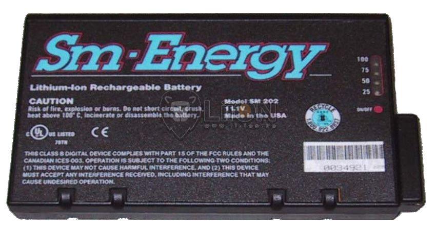 SM 202 baterie monitor restaurare