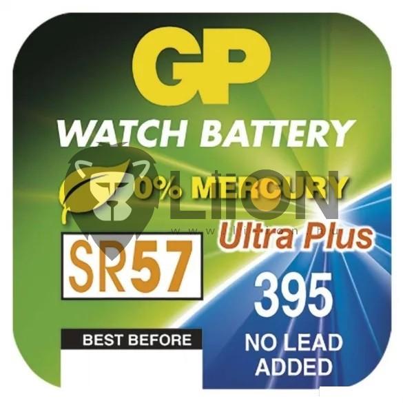 GP SR57 ezüst-oxid gombelem