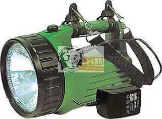 Tölthető kézi reflektor + LED