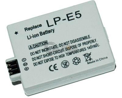 LP-E5 akku Canon kamerához