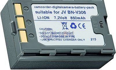 JVC BN-V306 utángyártott kamera akku